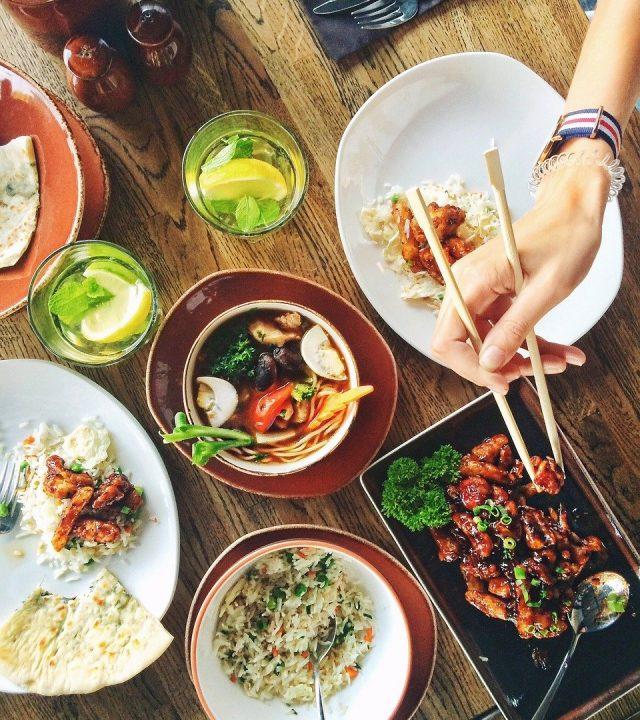 food, restaurant, menu
